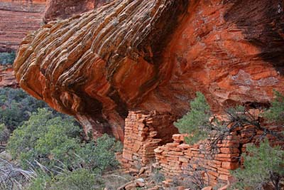 Photo of Remote Indian Ruins in Sedona AZ