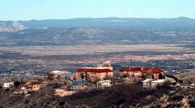 Photo of Jerome AZ, Liveliest Ghost Town in Arizona. Jerome is located near Sedona, Arizona
