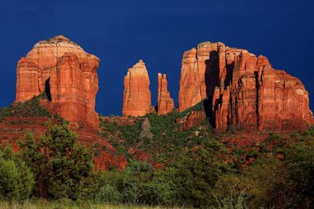 Red Rocks of Sedona   Red Rocks, Buttes, Hiking Trails