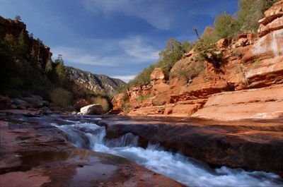 Photo of Slide Rock at Oak Creek Canyon
